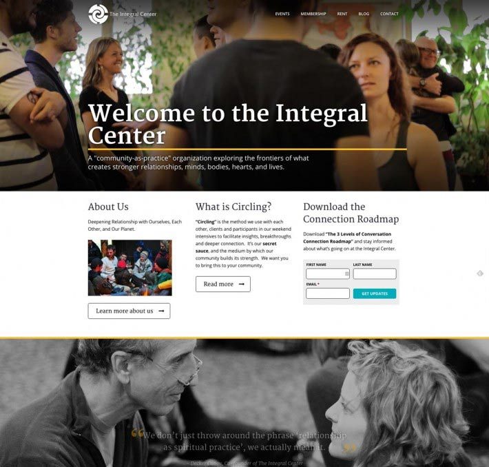 The Integral Center