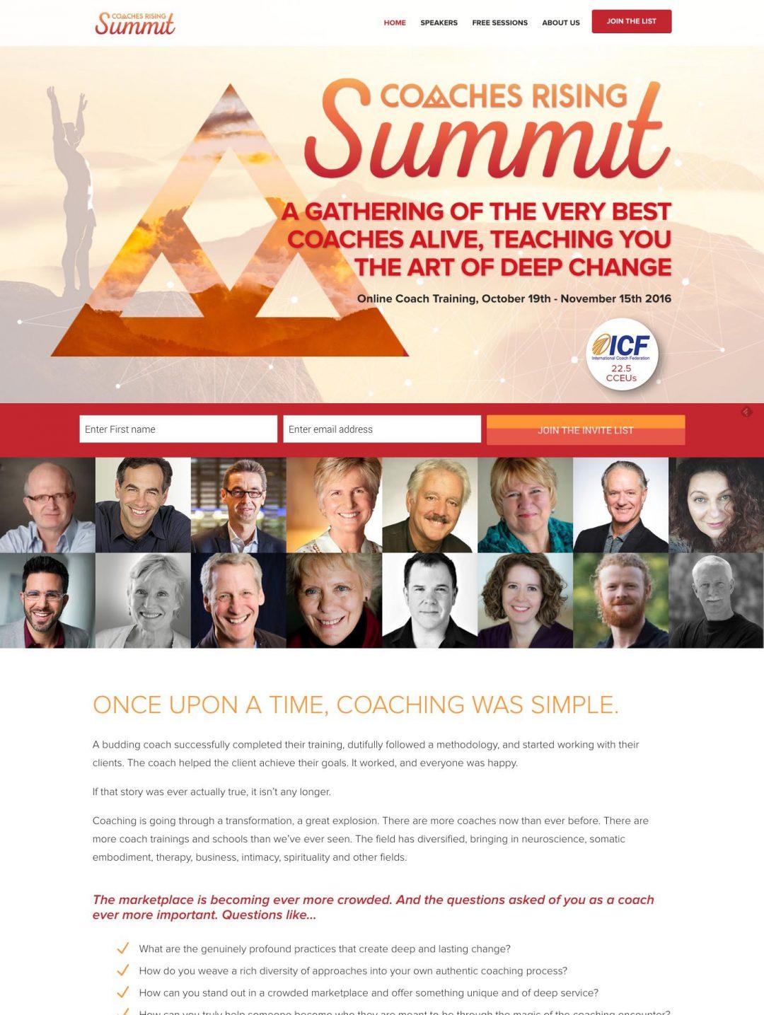 Coaches Rising Summit